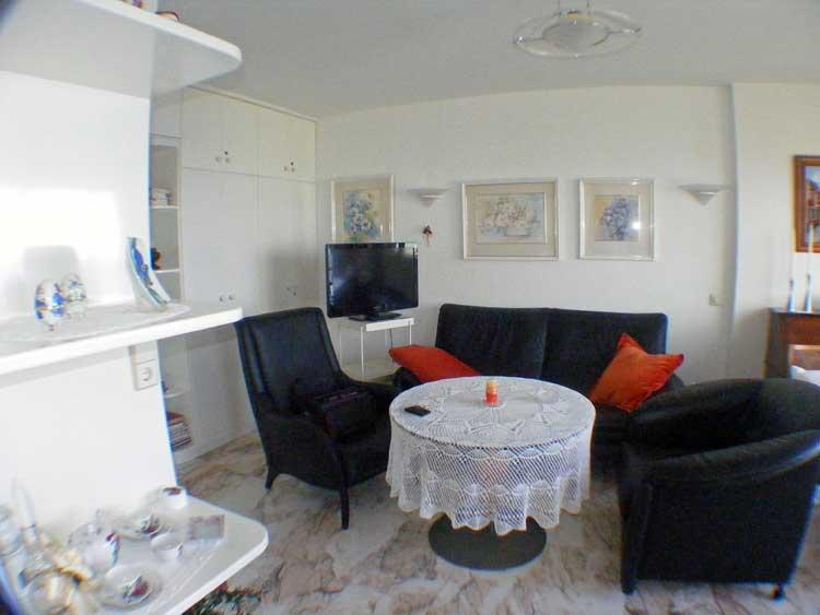Teneriffa Immobilien, Kleines, helles Apartment im Acapulco III - Apartment mit einem Schlafzimmer und tollem Meerblick
