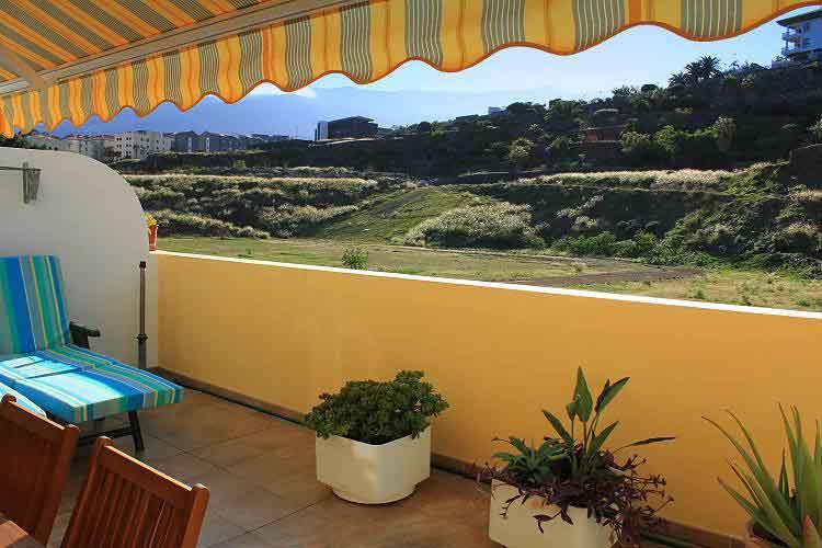 Apartment direkt am Strand Playa Jardín gelegen