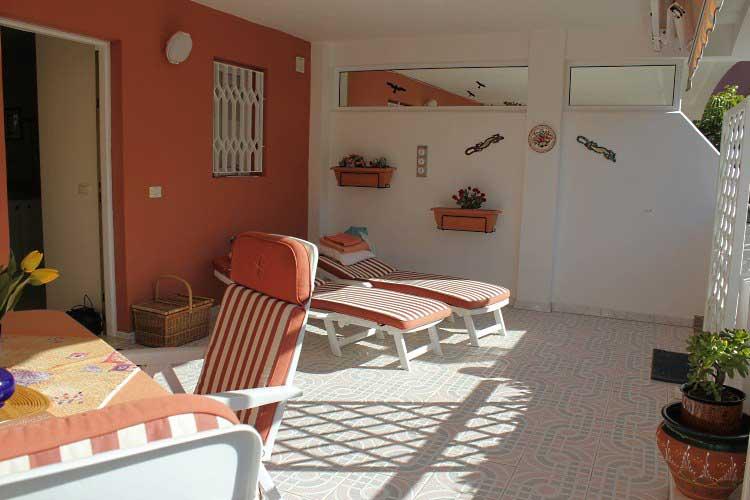 Teneriffa, Immobilie, Sch�nes Erdgeschosswohnung mit zwei Terrassen in Botanico-La Paz - Luxus Erdgeschoβ -Wohnung zu verkaufen in Puerto de la Cruz, Botanico-La Paz