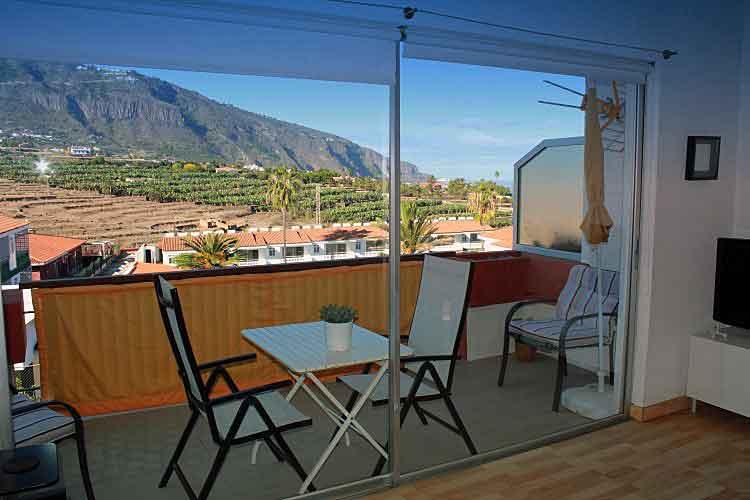 Immobilien Teneriffa,Schöne Wohnung in El Toscal - Los Realejos - Dachgeschoss Apartment mit Herlicham Blick in Los Realejos - Tenerife