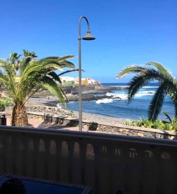 Direkt am Meer gelegen, neuwertige und gepflegte Wohnanlage in Garachico