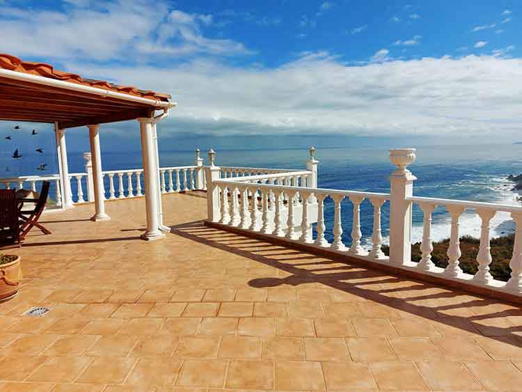Apartment with one bedroom and wonderful vierw to the Atlantic
