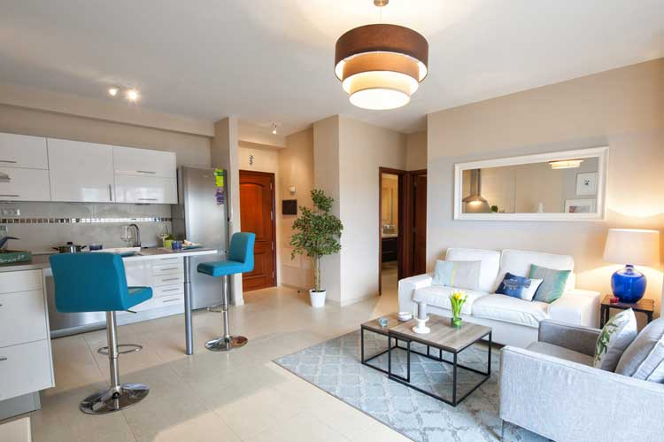 Apartments with two bedrooms, with modern facilities in a very good location