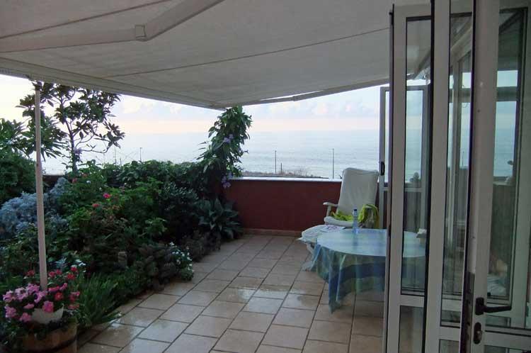 Wohnung mit zwei Schlafzimmern und fantastischem Meerblick,Puerto de la Cruz-Tenerife.