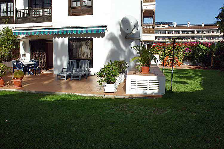 Apartment mit Garten in La Paz -Puerto de la Cruz