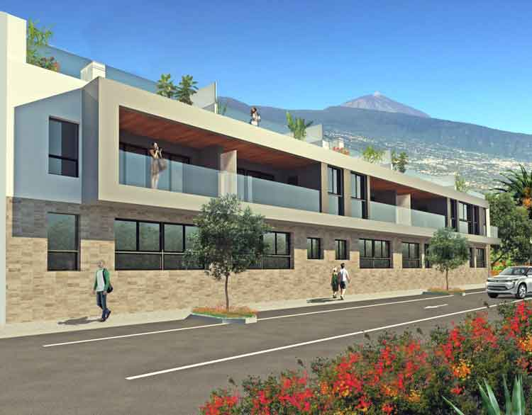 Residencial Humboldt,Luxurious condominium with 31 units in Tenerife north