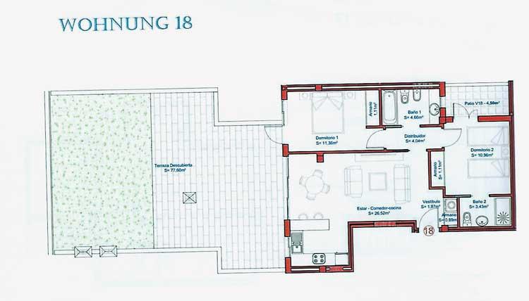 Ref. 5356 - Apartments 2 Bedrooms