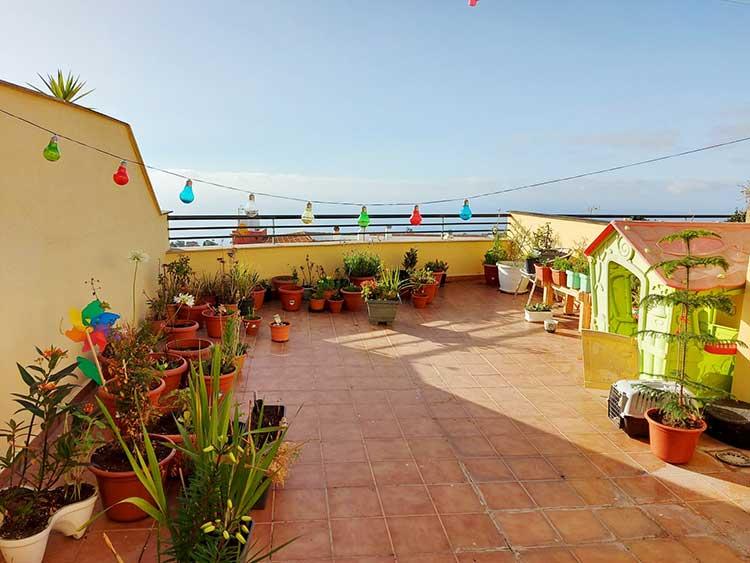 Apartamento / duplex en el centro de Tacoronte con vista al mar