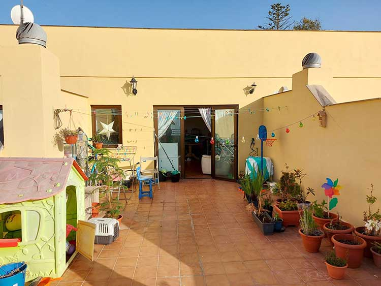 Apartment / duplex in the centre of Tacoronte with nice sea view