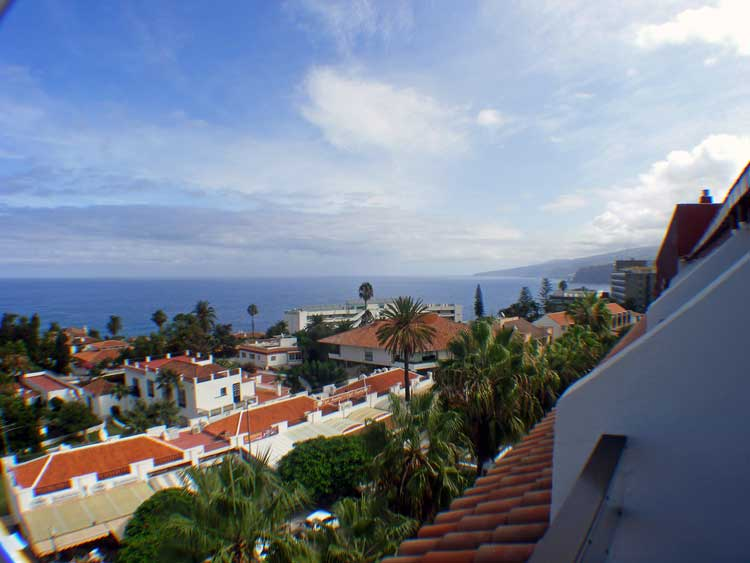 Immobilien Teneriffa Im obersten Stockwerk mit Meersicht - Apartment mit einem Schlafzimmer im 5.ten Stockwerke des Hotels Masaru La Paz