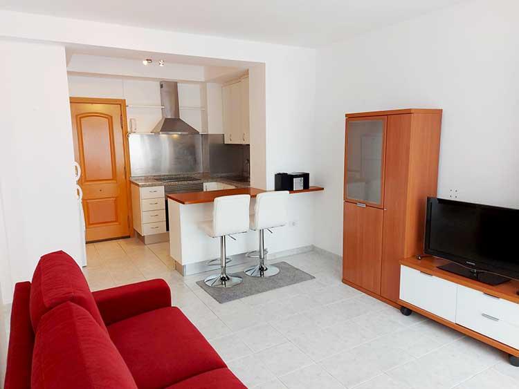 Apartment with one bedroom in Puerto de la Cruz / San Fernando