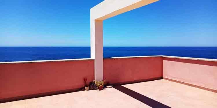 Geräumige Wohnung im ersten Meereslinie