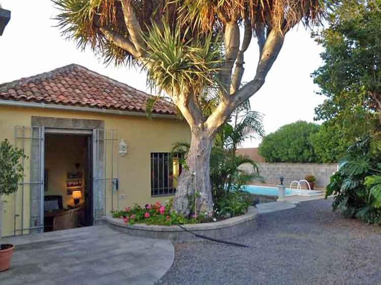 Haus mit Pool in der Nähe von Golf la Rosaleda, Puerto de la Cruz Teneriffa