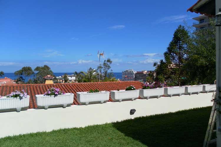 Puerto de la Cruz beindruckende kanarische Villa mit Meerblick - Meerblick - zentral - Einfamilienhaus - familienfreundlich - Garten - Schulen
