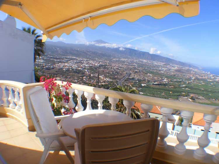 Immobilien Teneriffa Chalet mit Panorama Aussicht - Das besondere Anwesen! Traumblick und Traumlage