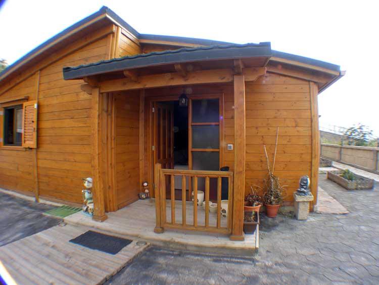 Immobilien Teneriffa Soooo gemütlich, hell und freundlich??????? - Teneriffa Gemütliches, neuwertiges Holzhaus in El Sauzal Urb. Los Naranjos
