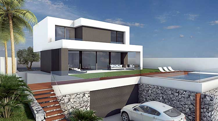 Exclusive project consisting of two floors with wonderful views to the Atlantic. click to enlarge the image
