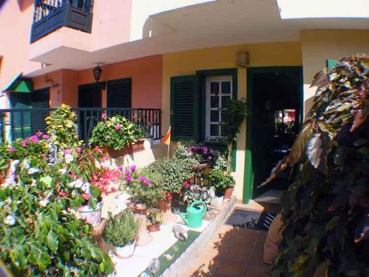Teneriffa. Reihenhaus mit zwei Schlafzimmern in Puerto de la Cruz
