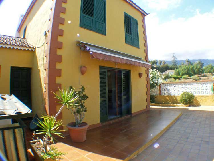 Immobilien Teneriffa. Reihenhaus im kanarischen Baustil - Puerto de la Cruz, Reihenhaus mit drei Schlafzimmern