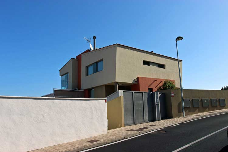 Townhouse with 3 bedrooms in La Matanza- Tenerife with wonderful views