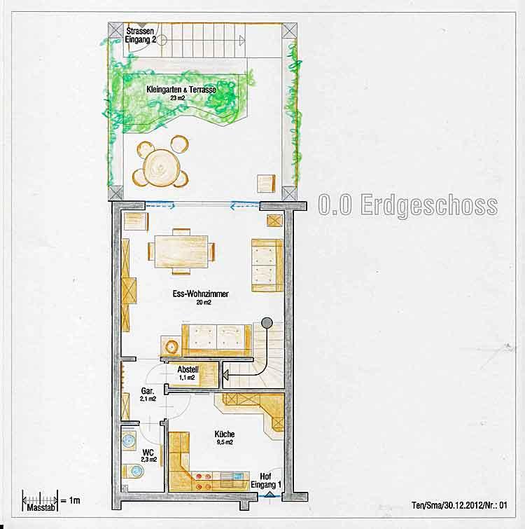 Ref. 5241 - Reihenhäuser 3 Schlafzimmer