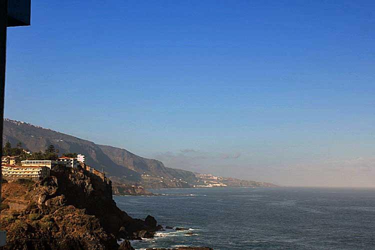 Immobilien Teneriffa, Studio mit sehr schönem Blick - Direkt am Meer gelegen mit schönem Blick auf die Nordkuste von Teneriffa