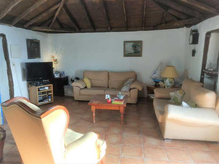 Finca de tres dormitorios en idílica naturaleza en El Tanque Ruigomez