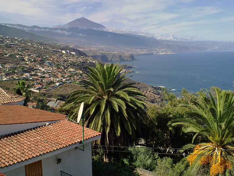 Tenerife, Urban plot with 2.500 sqm in very good location of El Sauzal