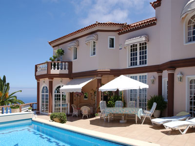 Teneriffa Immobilie, Luxus-Chalet - Traumhaftes Anwesen mit exklusiver Ausstattung und freiem Panoramablick